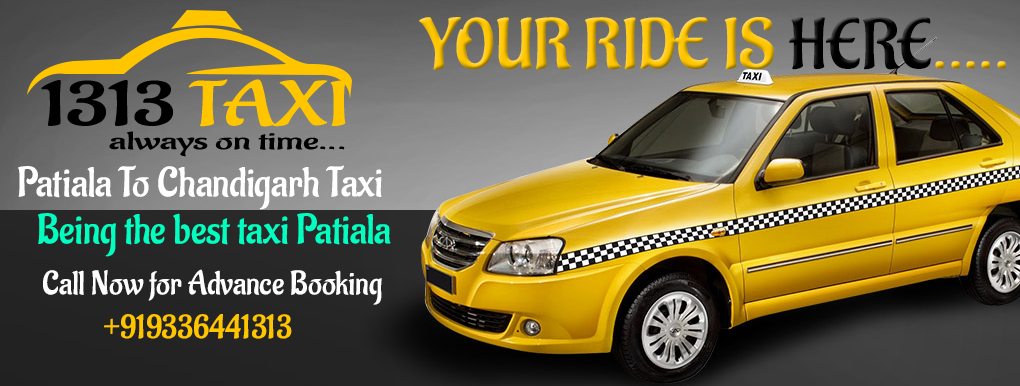 Patiala To Chandigarh Taxi